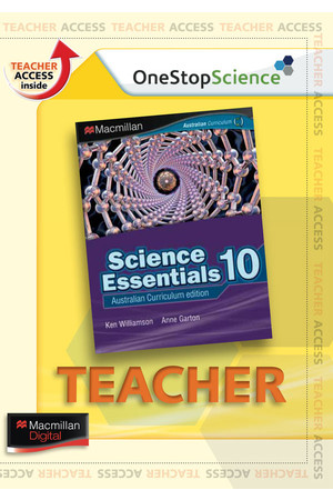 Science Essentials 10 - Digital Teacher Support