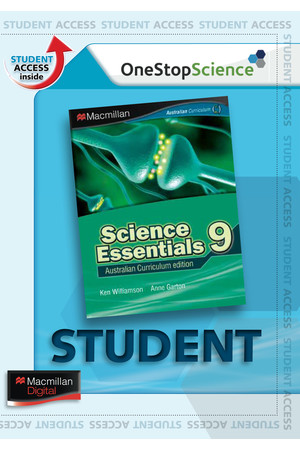 Science Essentials 9 (Digital Access Only)
