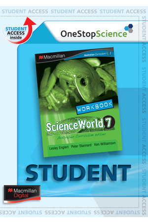 ScienceWorld 7 - Workbook (Digital Access Only)