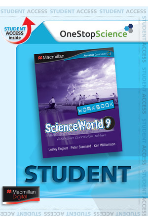 ScienceWorld 9 - Digital Workbook (Digital Access Only)