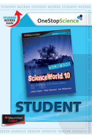 ScienceWorld 10 - Workbook (Digital Access Only)