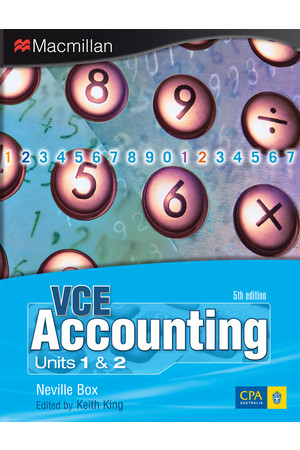 VCE Accounting: Units 1&2 - Print & eBook (Fifth Edition)