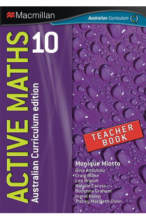 Active Maths 10 - Teacher Book