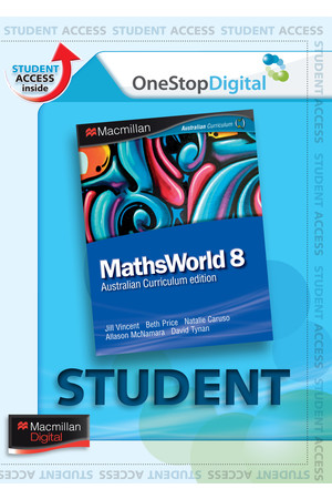 MathsWorld 8 (Digital Access Only)