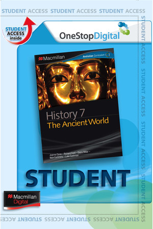 Macmillan History 7 - The Ancient World (Digital Access Only)