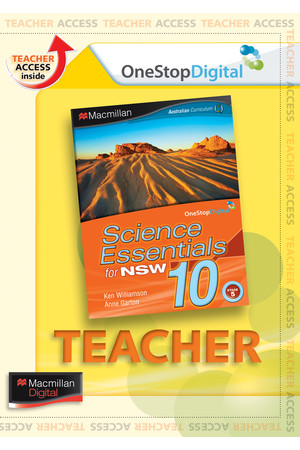 Science Essentials 10 for NSW - Teacher Support (Digital Access Only)
