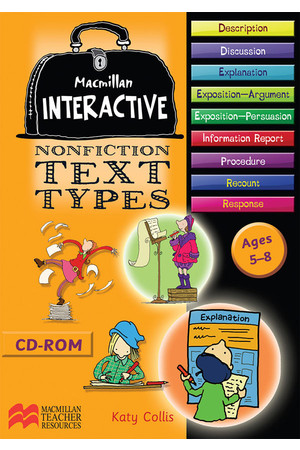 Macmillan Interactive - Nonfiction Text Types: Ages 5-8