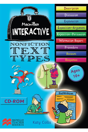 Macmillan Interactive - Nonfiction Text Types: Ages 8-10