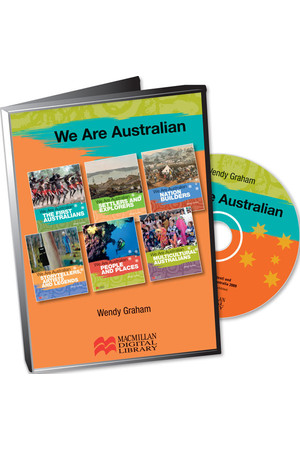 We Are Australian Series - Digital Books (CD Pack)