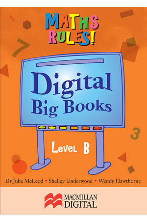 Maths Rules! - Digital Big Books: Level B