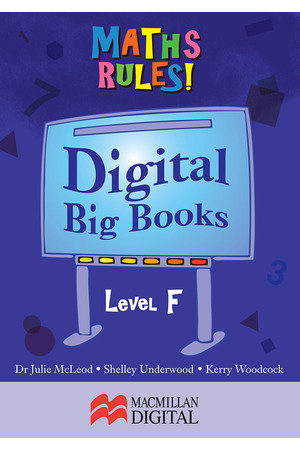 Maths Rules! - Digital Big Books: Level F