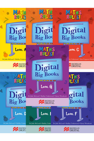 Maths Rules! - Digital Big Books: Pack