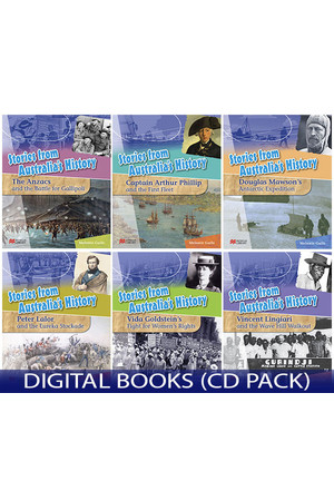 Stories from Australia's History - Set 1: Digital Books (CD Pack)