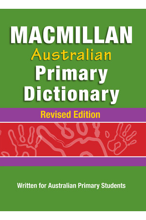 Macmillan Australian Primary Dictionary - Revised Edition