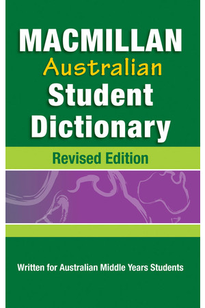 Macmillan Australian Student Dictionary - Revised Edition