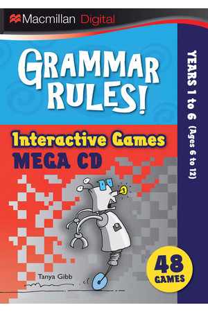 Grammar Rules! - Interactive Games CD