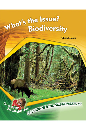Geography Investigations - Environmental Sustainability: What's the Issue? Biodiversity (x5)