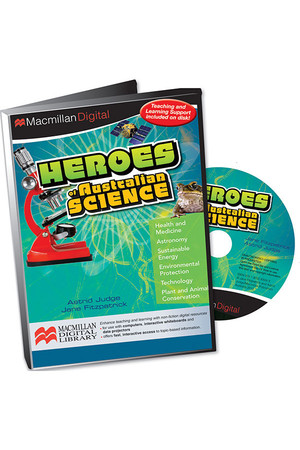 Heroes of Australian Science - Digital Books (CD Pack)