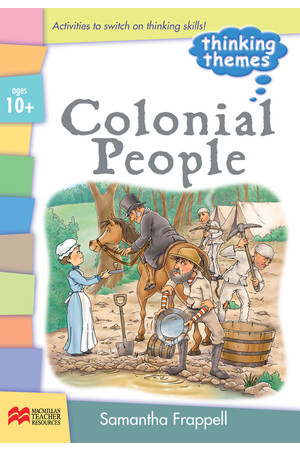 Colonial People Series - Teacher Resource Book: Ages 10+