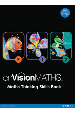 enVisionMATHS - Foundation: Maths- Thinking- Skills- Book- F- 2