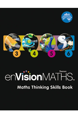 enVisionMATHS - Maths Thinking Skills Book (3-6)