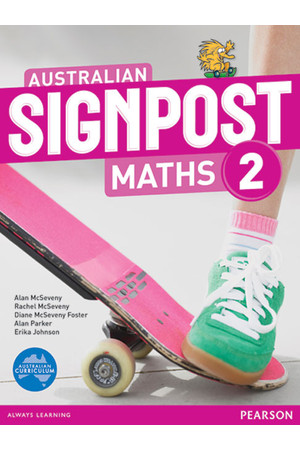 Australian Signpost Maths - Student Activity Book: Year 2