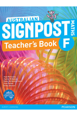 Australian Signpost Maths - Teacher's Book: Foundation
