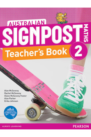 Australian Signpost Maths - Teacher's Book: Year 2