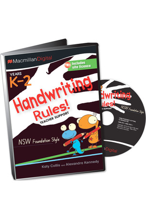 Handwriting Rules! - NSW Foundation Style: Teacher Support CD (K-2)