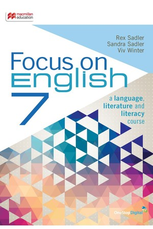 Focus On English - Year 7: Student Book (Print & Digital)