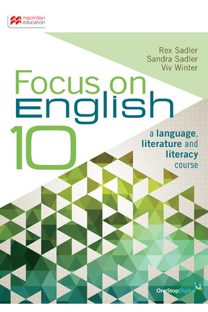 Focus on English - Year 10: Student Book (Print & Digital)