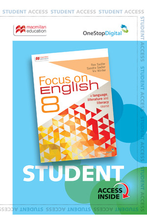 Focus on English - Year 8 (Digital Access Only)