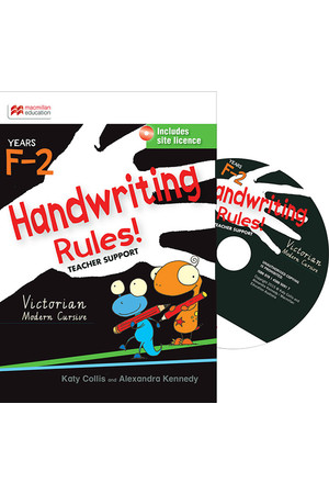 Handwriting Rules! - Victorian Modern Cursive: Teacher Support CD (F-2)