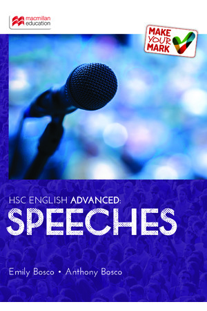 Make Your Mark HSC - English Advanced: Speeches