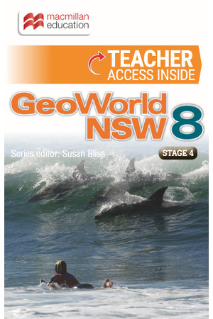 GeoWorld 8 - NSW Curriculum: Teacher Resource (Digital Access Only)