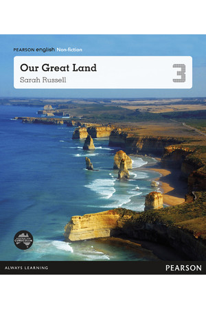 Pearson English Year 3: This is Australia - Non-Fiction Topic Book - Our Great Land