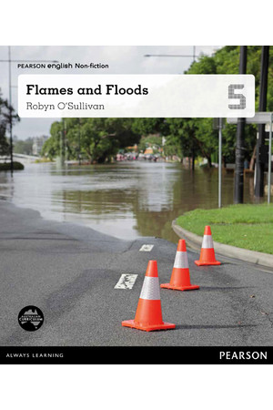 Pearson English Year 5: Impact! - Non-Fiction Topic Book - Flames and Floods