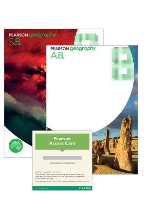 Pearson Geography 8 - Student Book, Activity Book & eBook 3.0 Combo Pack