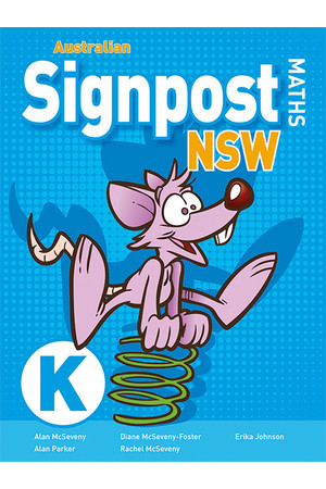 Australian Signpost Maths NSW (Second Edition) - Student Activity Book: Kindergarten