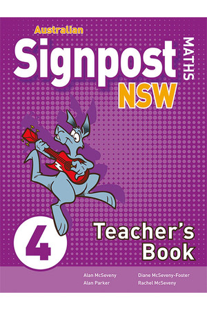 Australian Signpost Maths NSW (Second Edition) - Teacher's Book: Year 4