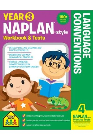 NAPLAN*-Style Year 3 Language Conventions Workbook & Tests