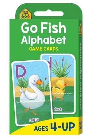 Go Fish Alphabet Cards
