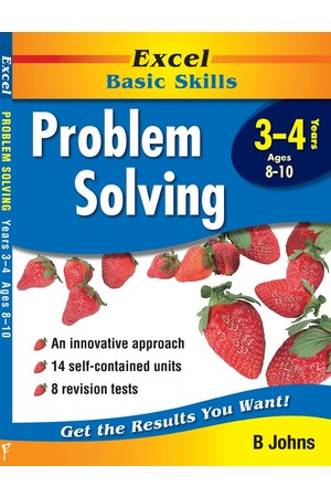Excel Basic Skills - Problem Solving: Years 3-4