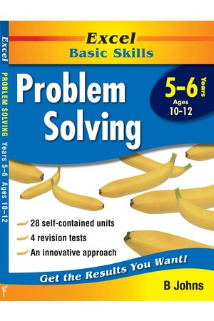 Excel Basic Skills - Problem Solving: Years 5-6