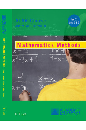 Year 11 ATAR Course Textbook - Mathematics Methods