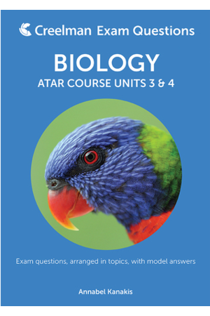 Biology - Year 12 ATAR Units 3 & 4: Creelman Exam Questions 2017
