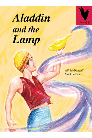 WINGS Big Books - Aladdin and the Lamp