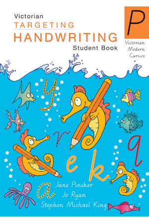 Targeting Handwriting VIC - Student Book: Prep