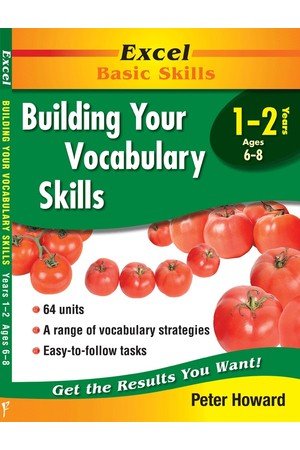 Excel Basic Skills - Building Your Vocabulary Skills: Years 1-2