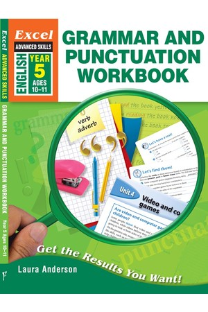 Excel Advanced Skills - Grammar and Punctuation Workbook: Year 5